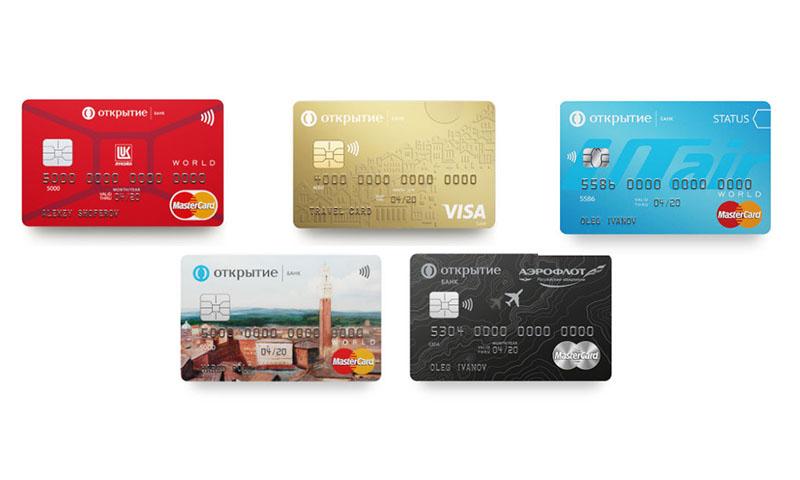 Оформить заявку на кредитную карту в банке Открытие