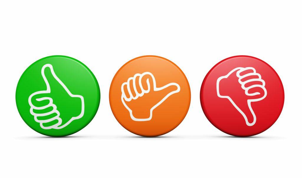 положительные и отрицательные мнения вкладчиков